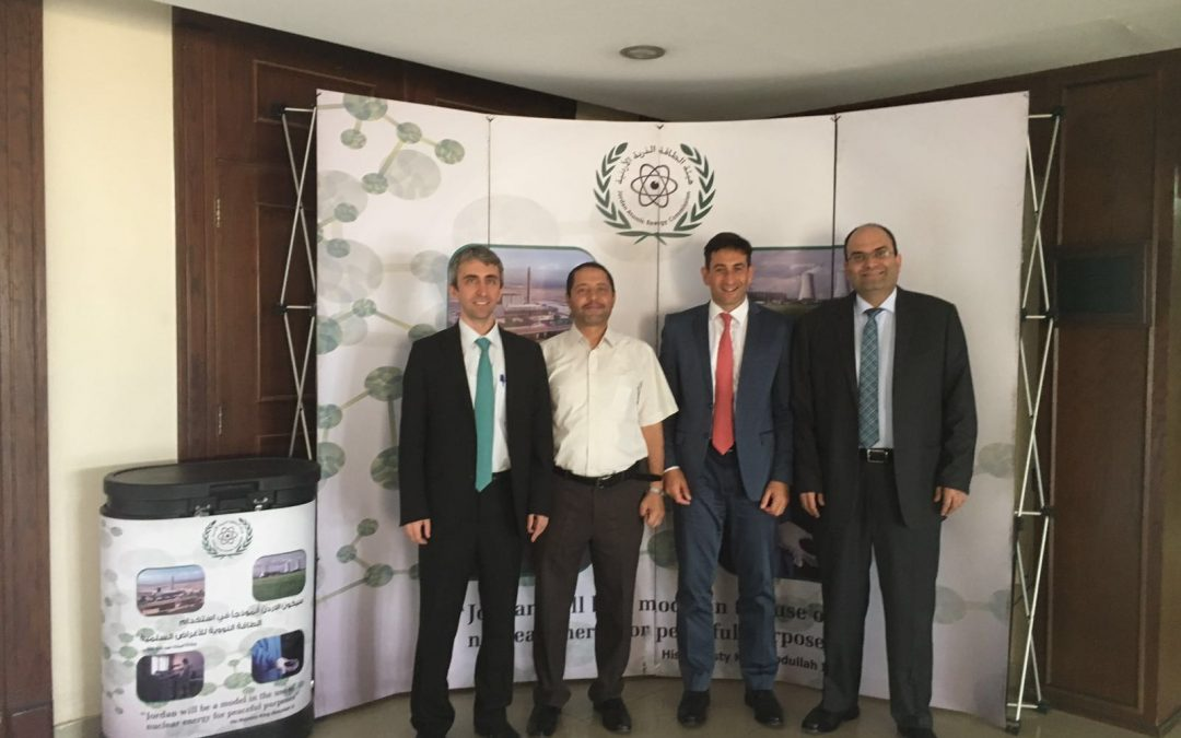 The Nuclear Industry Association of Turkey (NIATR) met the Jordan Atomic Energy Commission (JAEC) and the Jordan Nuclear Power Company (JNPC) in Amman