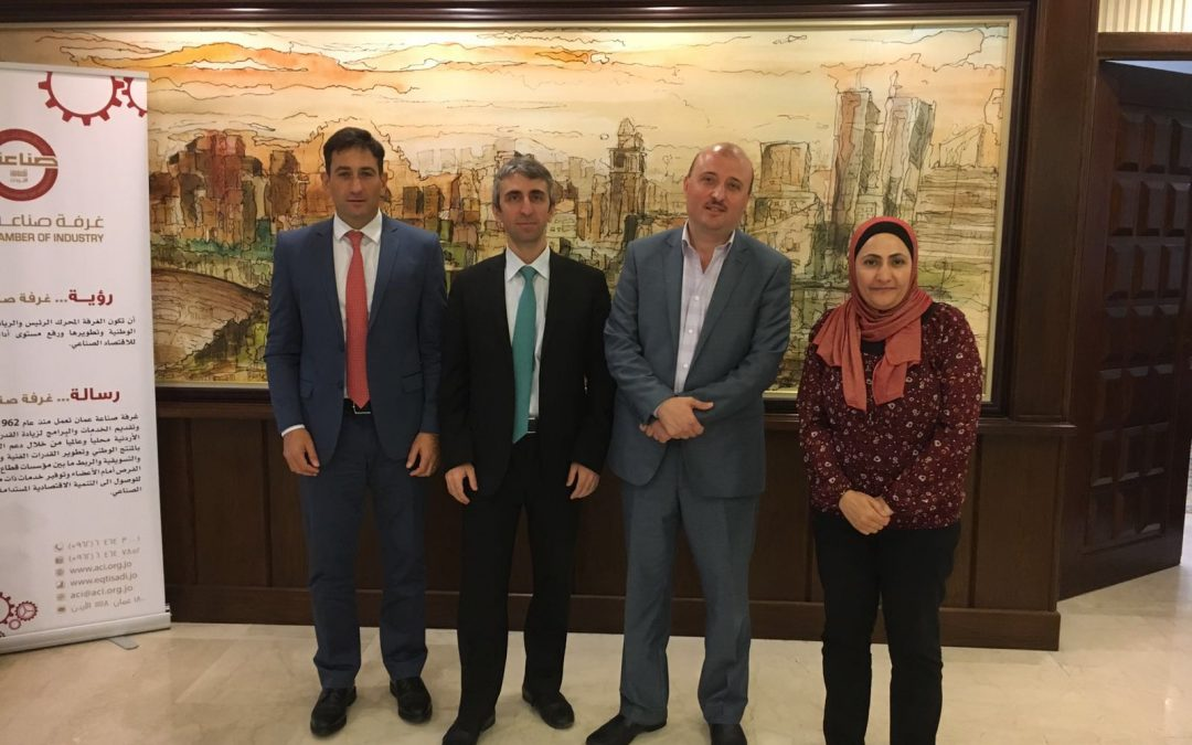 Meeting between the Amman Chamber of Industry (ACI) and the Nuclear Industry Association of Turkey (NIATR)